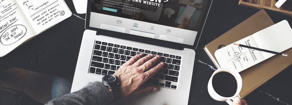 Blog création site vitrine