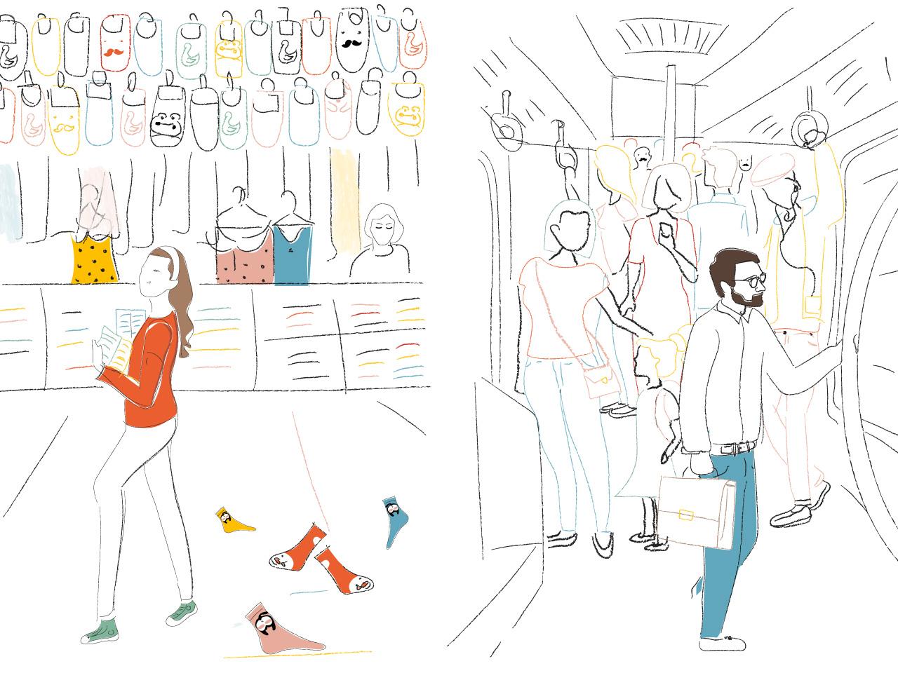 Comment créer son entreprise - illustration histoire Lisa 5