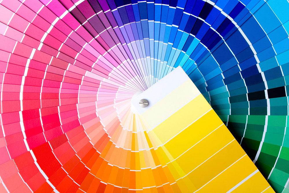 faire une charte graphique - couleurs