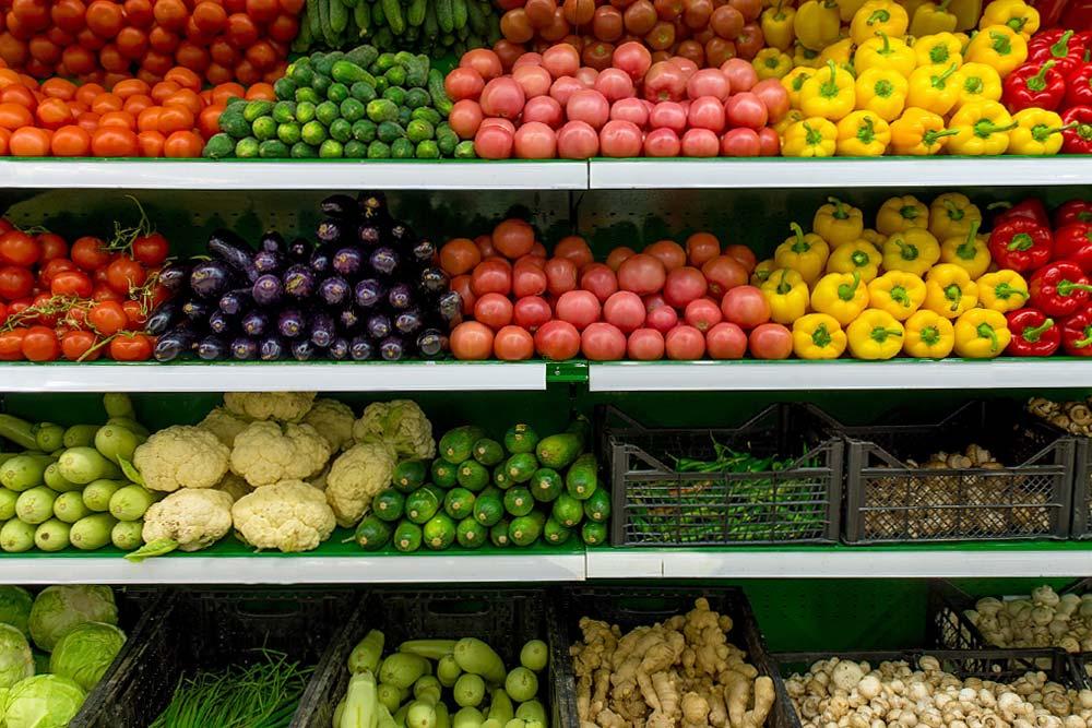 faire une charte graphique - rayons légumes
