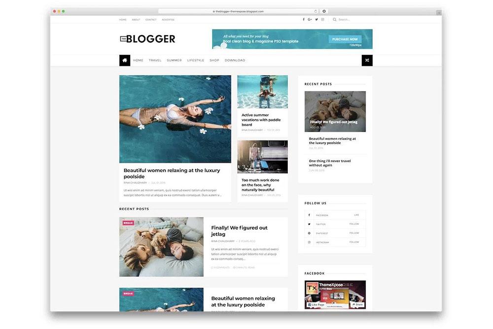 Comment créer un blog - Blogger