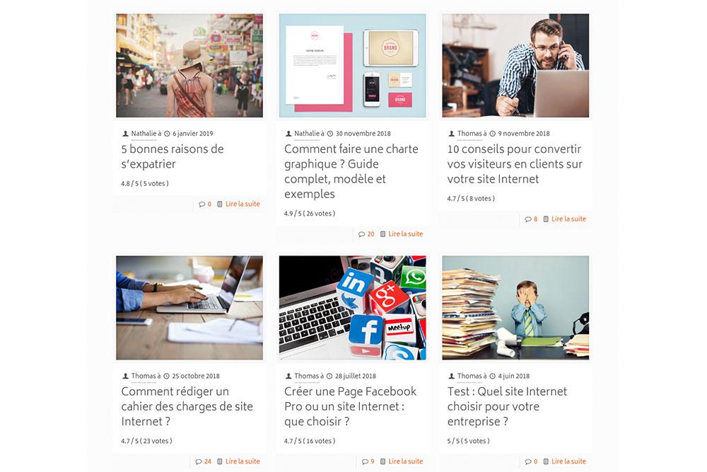 Comment créer un blog - Cocorico Web