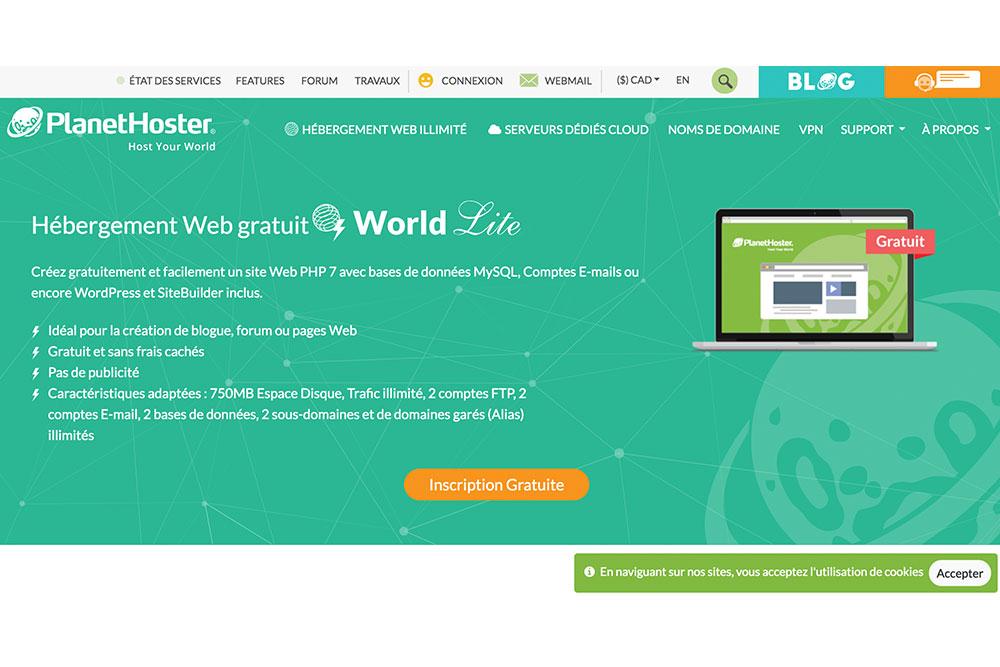 Comment créer un blog - Hoster