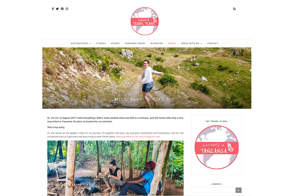 Comment créer un blog - Lili