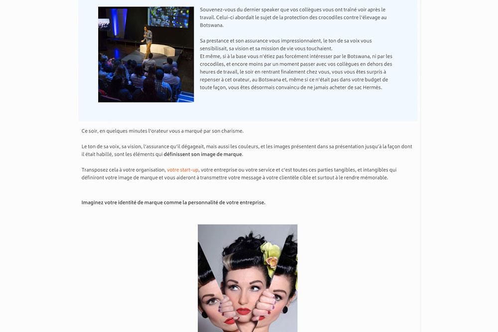 Comment créer un blog - Mise enPage